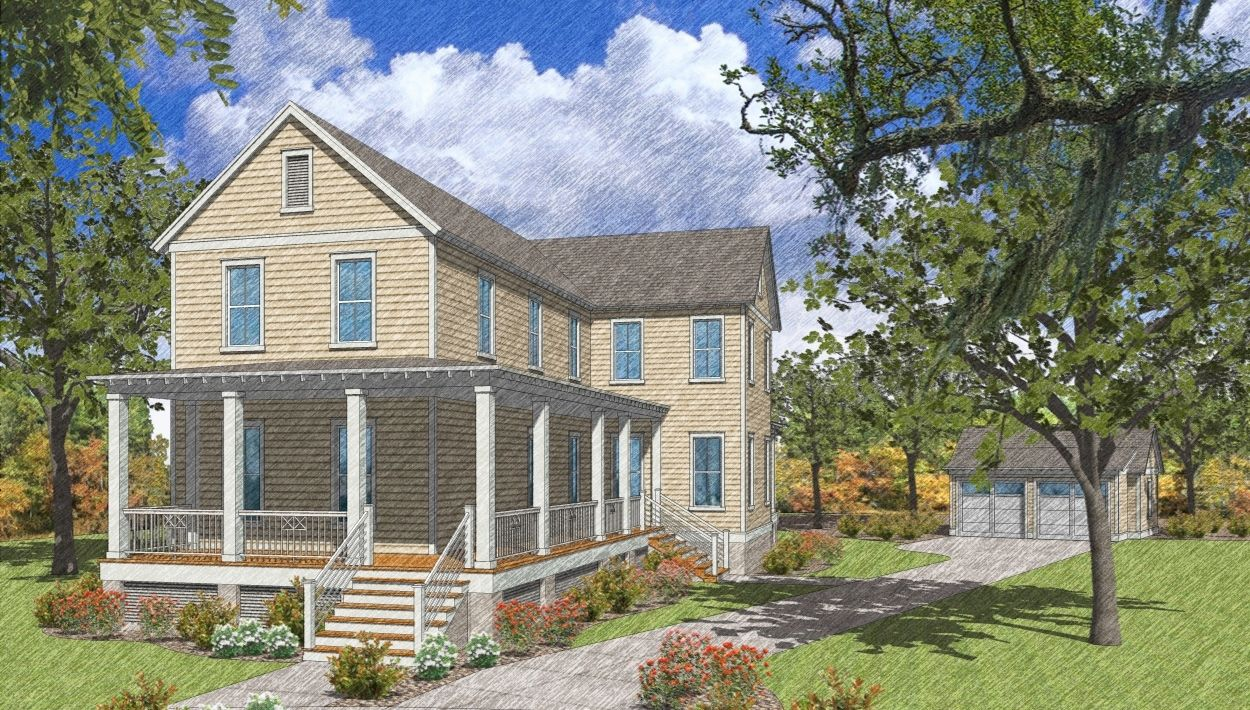 Single Family for Sale at Carolina Park - Tybee 1538 Banning Street Mount Pleasant, South Carolina 29466 United States