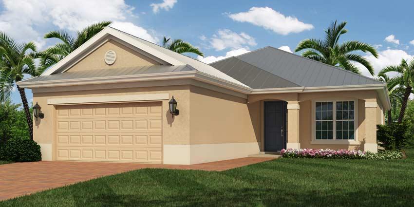 Bimini Model Home At Serenoa Vero Beach Fl