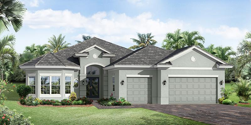Single Family for Sale at Lake Sapphire - Barrington 60 4624 5th St Sw Vero Beach, Florida 32968 United States