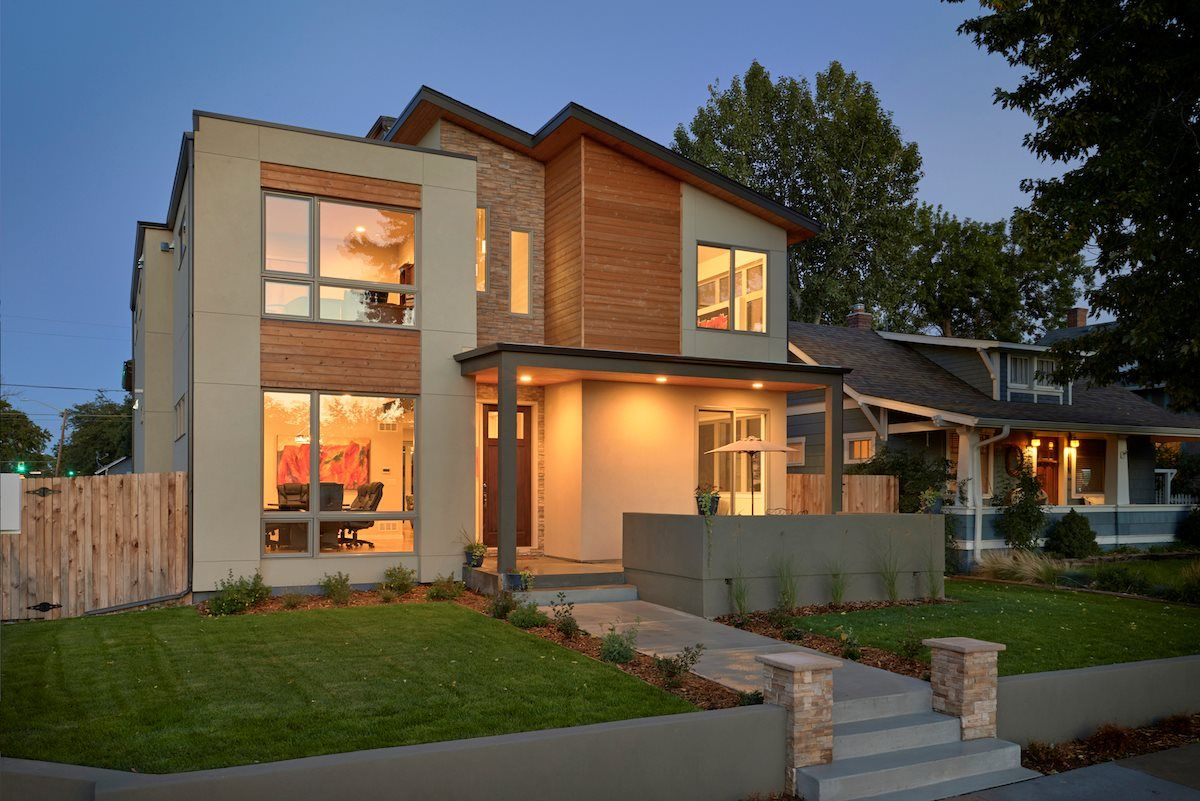 Single Family for Active at Providence 2560 Chase Street Edgewater, Colorado 80214 United States