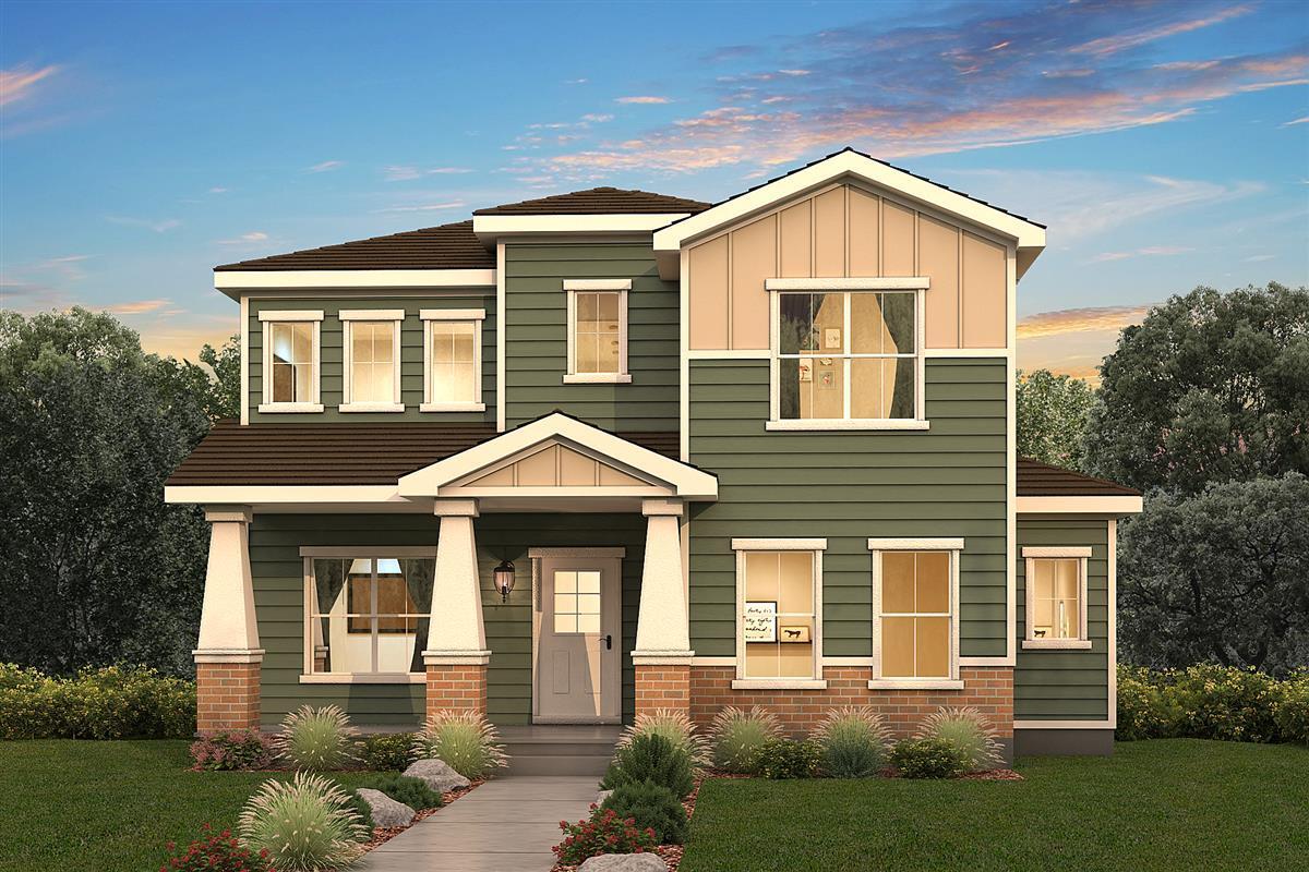 Single Family for Active at Denver - Regis 4705 W. 38th Avenue Denver, Colorado 80212 United States