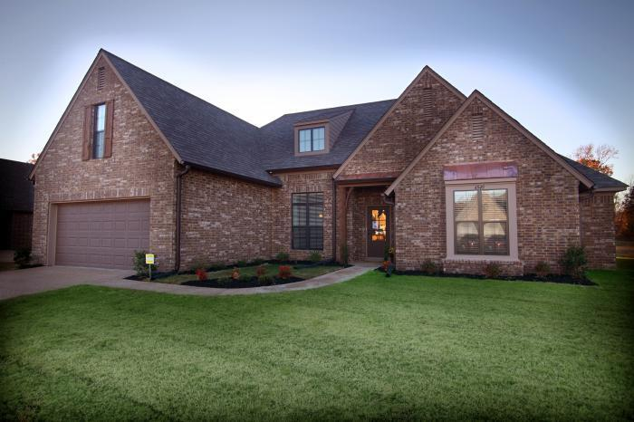 Trinity park new homes in olive branch ms by grant new homes for Trinity home builders