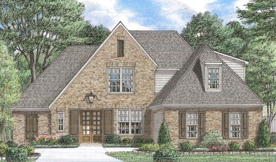 Grant New Homes Montrose Vermont 933221 Olive Branch Ms New Home For Sale Homegain