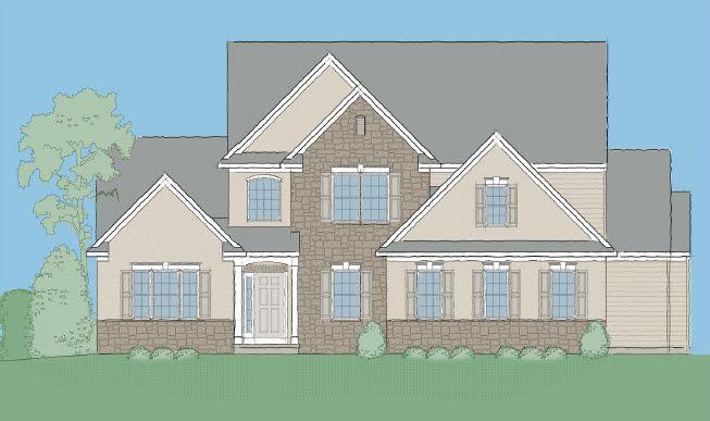 Single Family for Sale at Fallen Oak Estates - Hampton 184 N. Ramona Road Myerstown, Pennsylvania 17067 United States