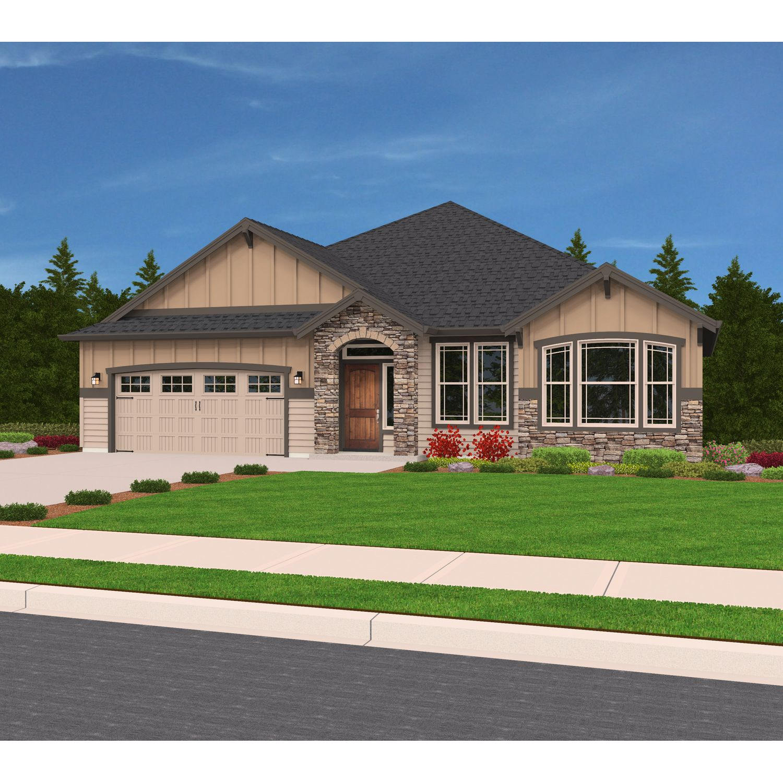 'Single Family' building or community at 'Peaks at Canterwood 5608 122nd St. Ct. Gig Harbor, Washington 98332 United States'