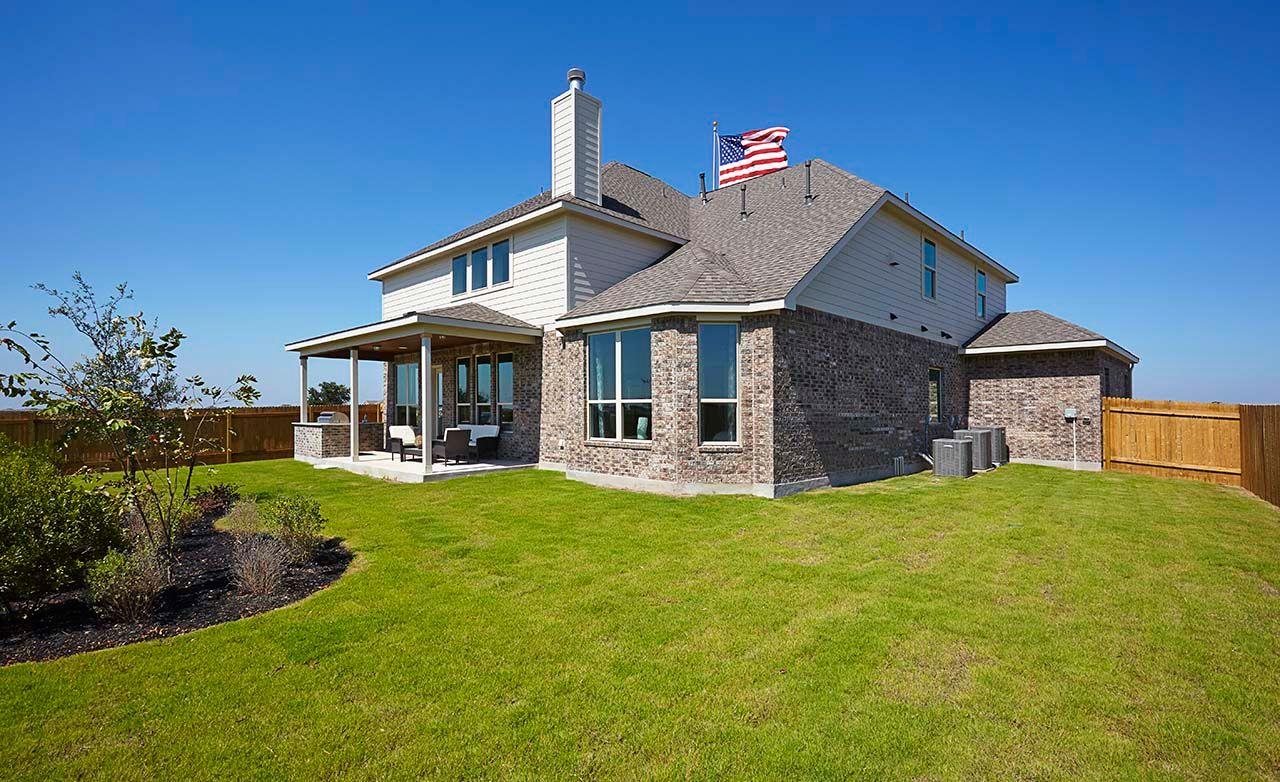 New Homes Blackhawk Pflugerville
