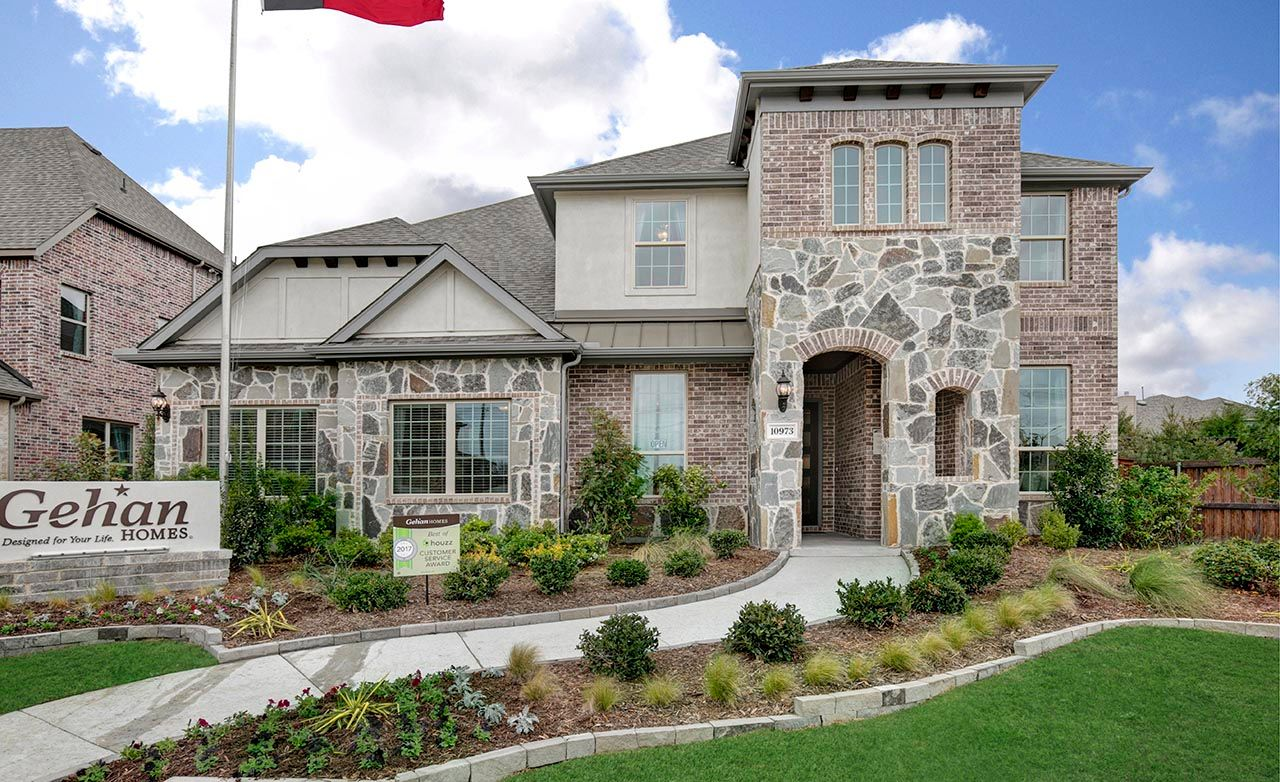 The arbors at willow bay new homes in frisco tx by gehan homes for New modern homes in frisco tx