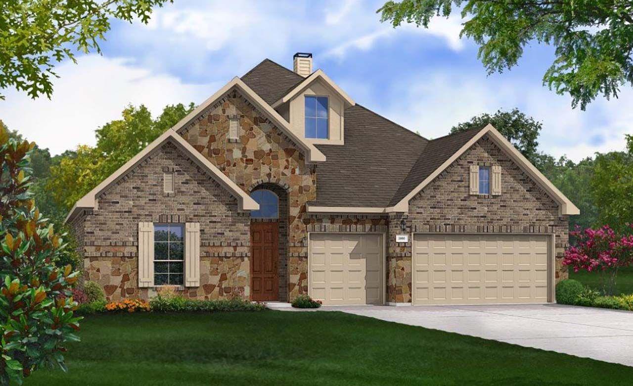 Gehan homes mason hills villanova 1259161 leander tx for Gehan homes