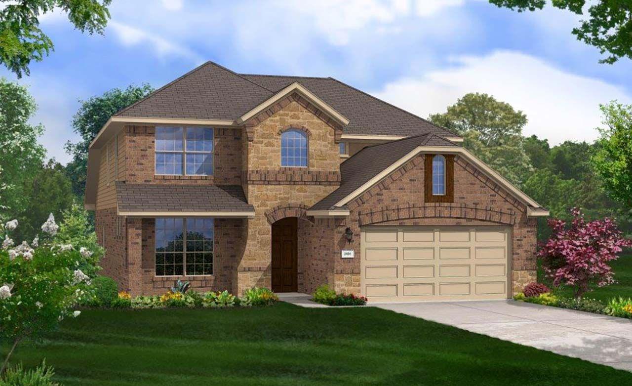 Gehan homes siena premier yaupon 1303237 round rock for Gehan homes