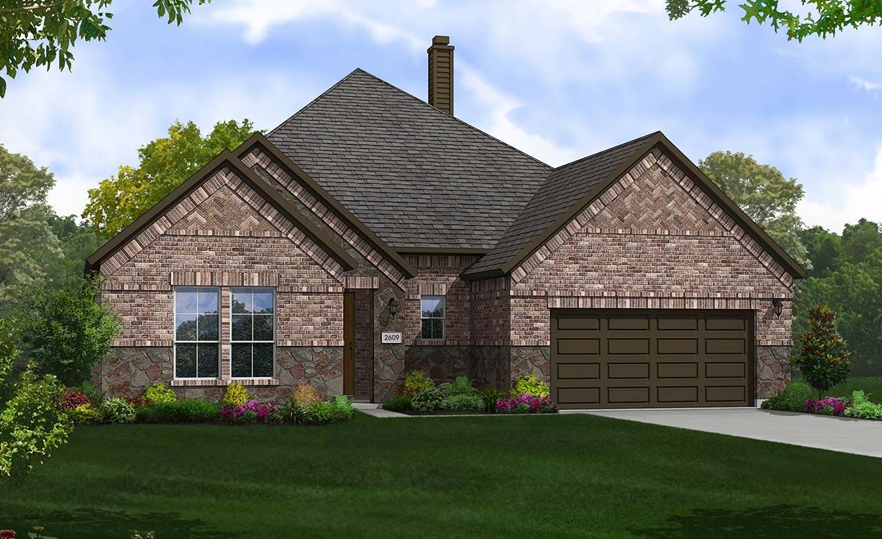 Gehan Homes Sabine Park Estates Yale 1326752 Plano Tx