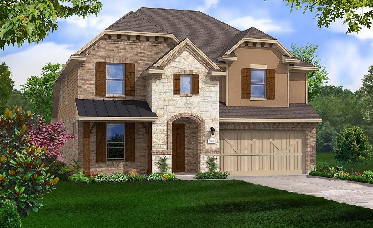 Gehan homes redwood robinson ridge 4 bedrooms 2 5 for Gehan homes