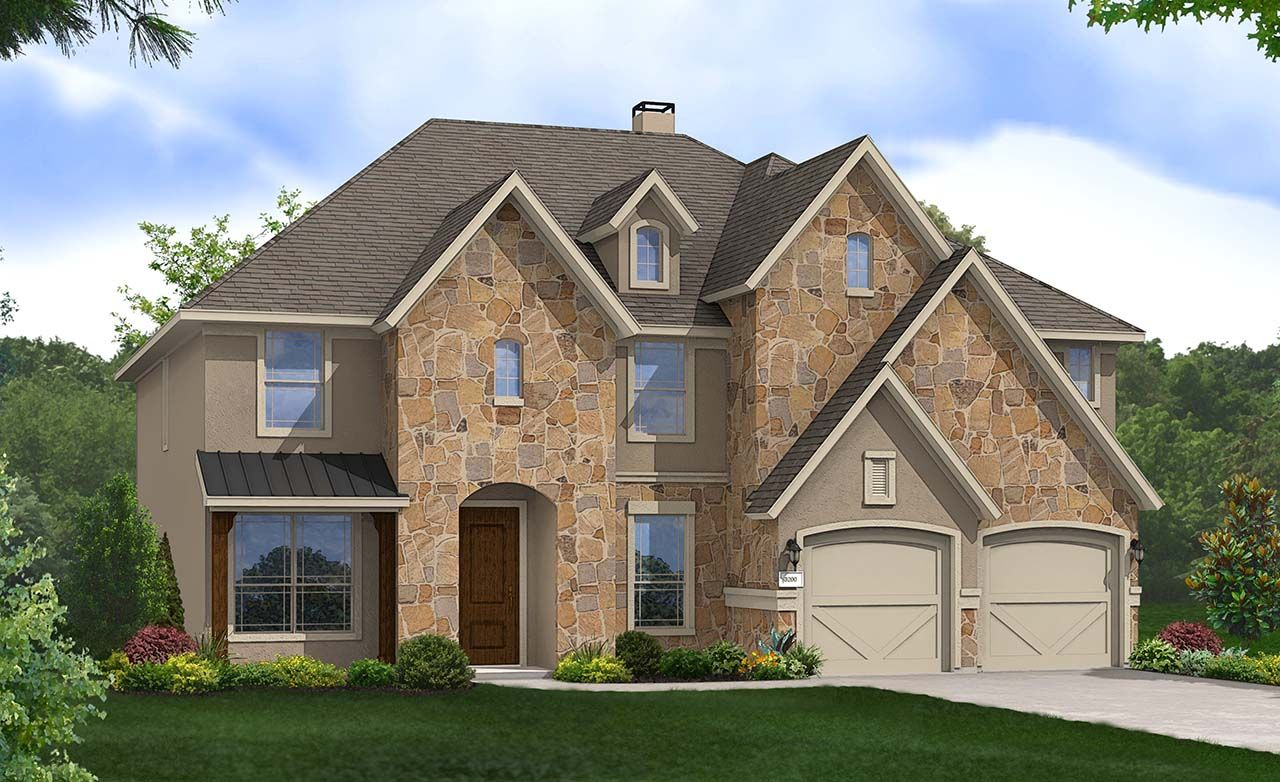 Settlement at gruene new homes in new braunfels tx by for Gehan homes