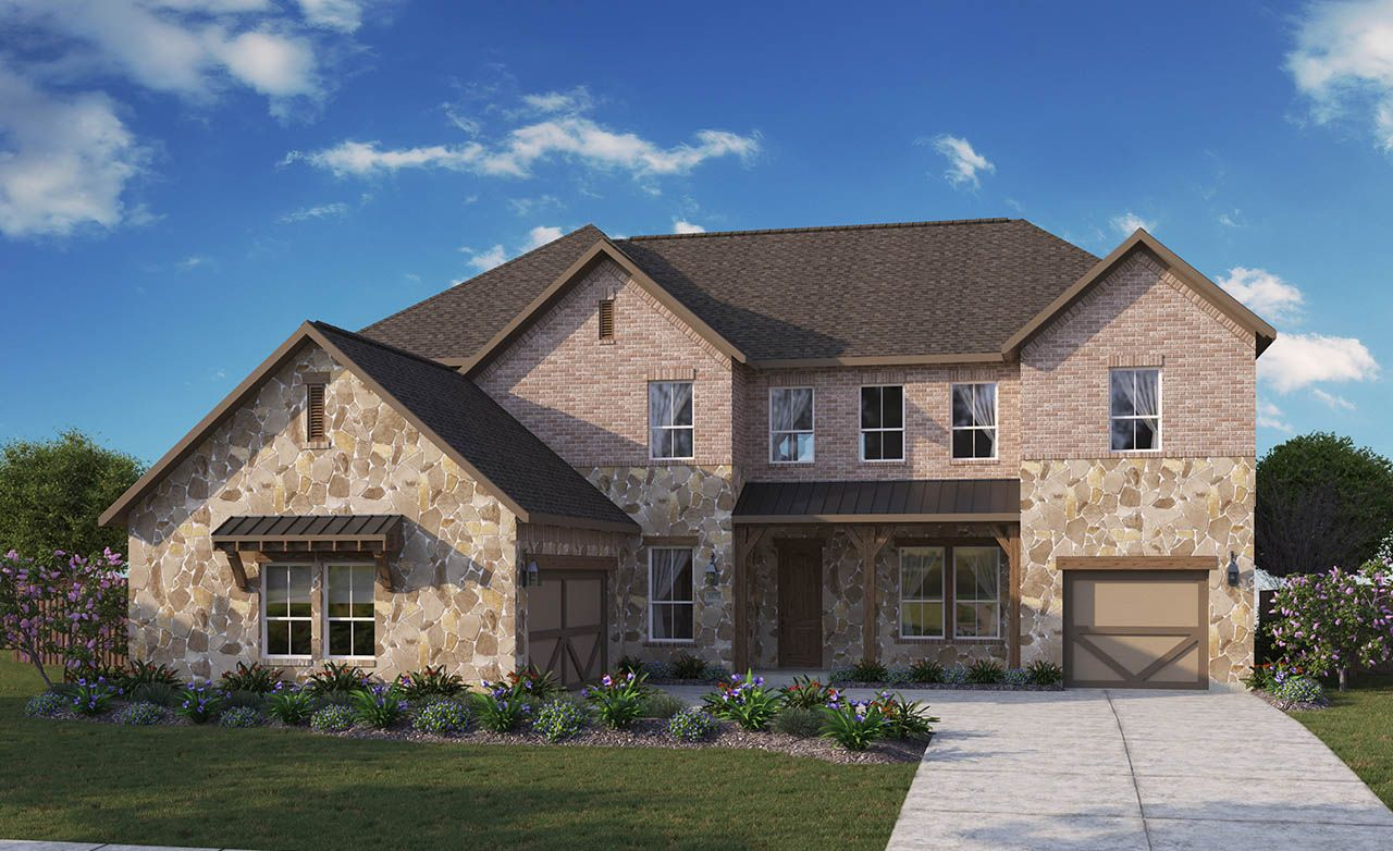 Gehan homes sabine park estates monarch 1318628 plano for Monarch house
