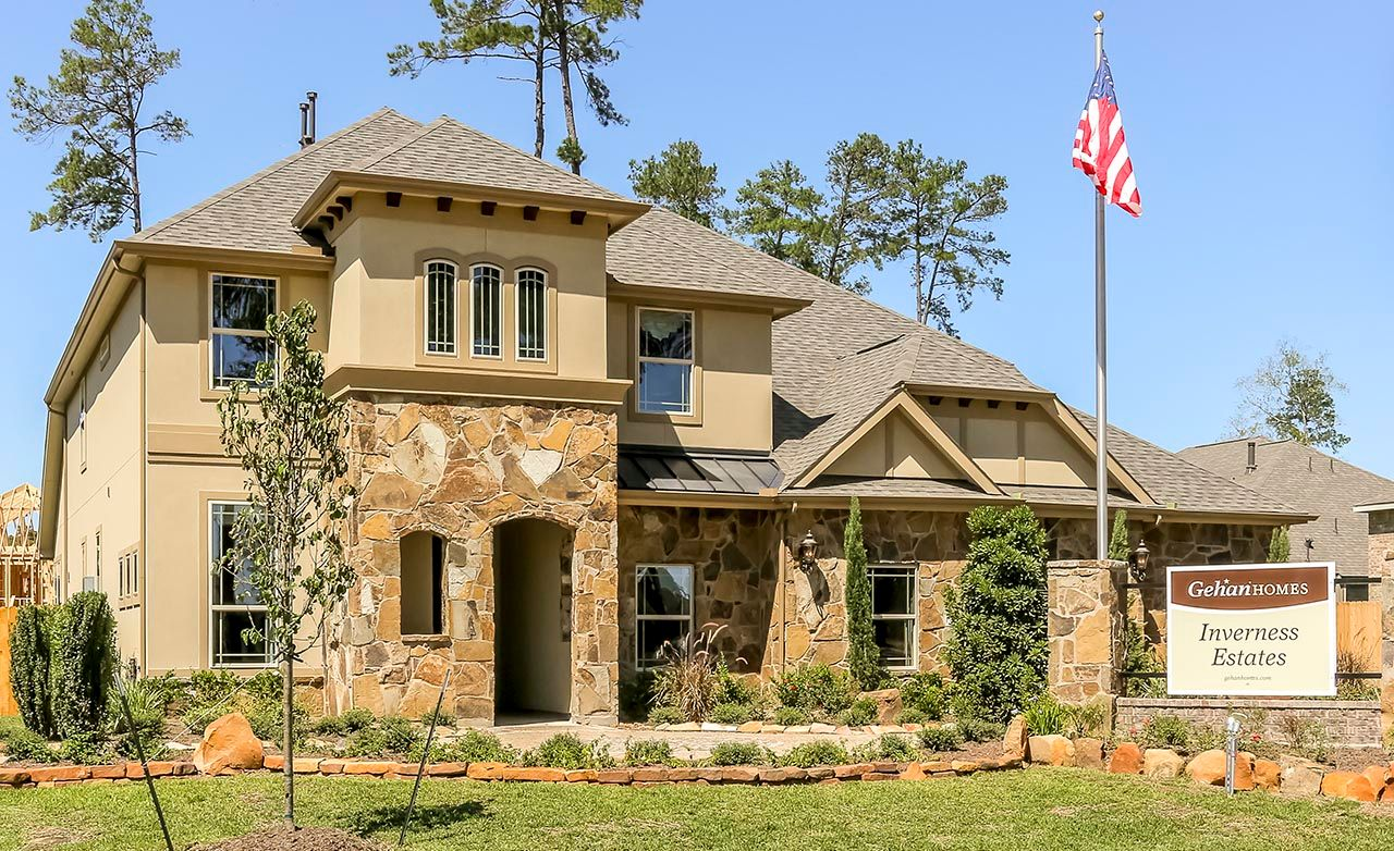 Inverness estates classic tomball tx gehan homes House builders inverness