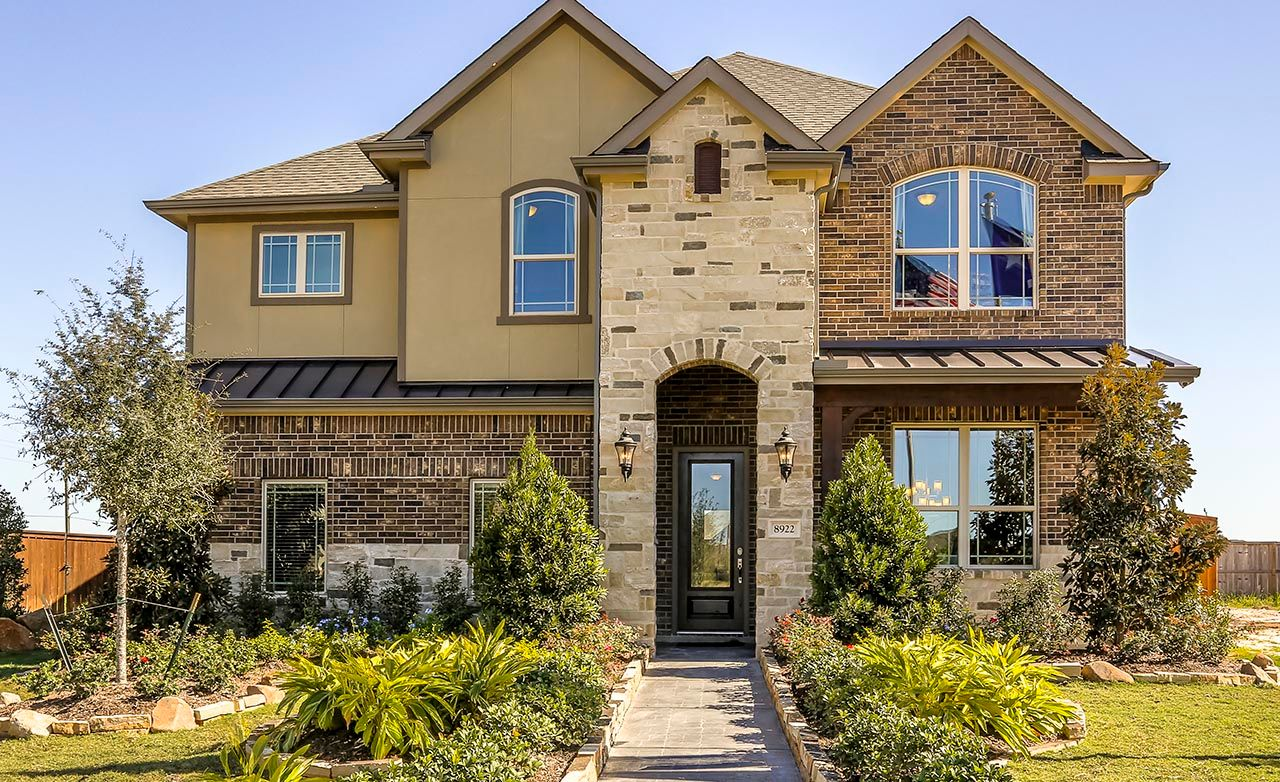 Lakeside Home Plans Towne Lake New Homes In Cypress Tx By Gehan Homes