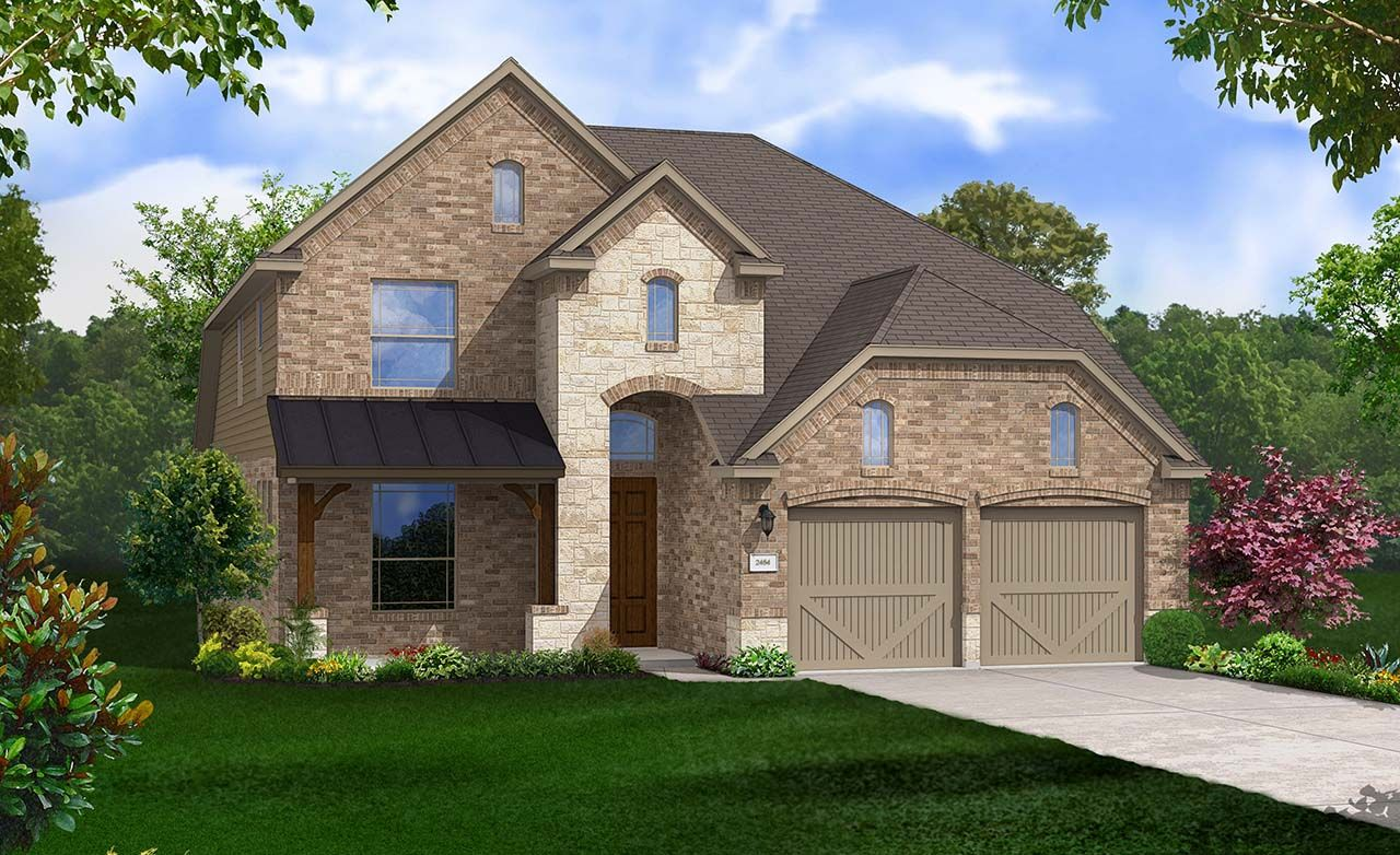 Gehan homes sommerall park yaupon 1219623 houston tx for Gehan homes