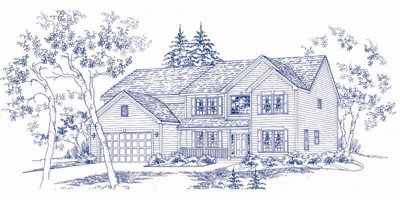 Single Family for Sale at Liberty Trails - Georgian 2703 Bush Terrace McHenry, Illinois 60051 United States