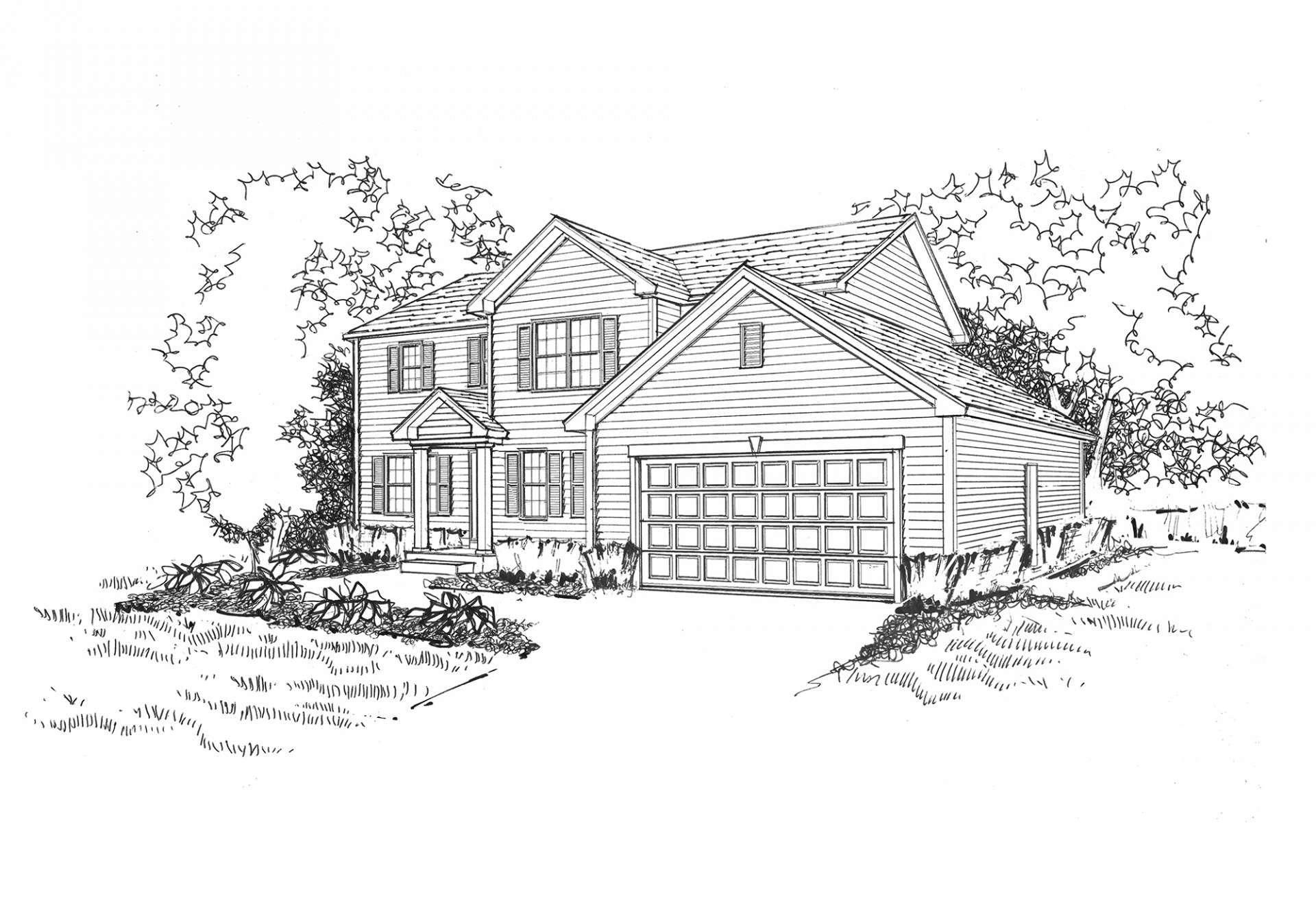 Single Family for Sale at Liberty Trails - Jackson 2703 Bush Terrace McHenry, Illinois 60051 United States