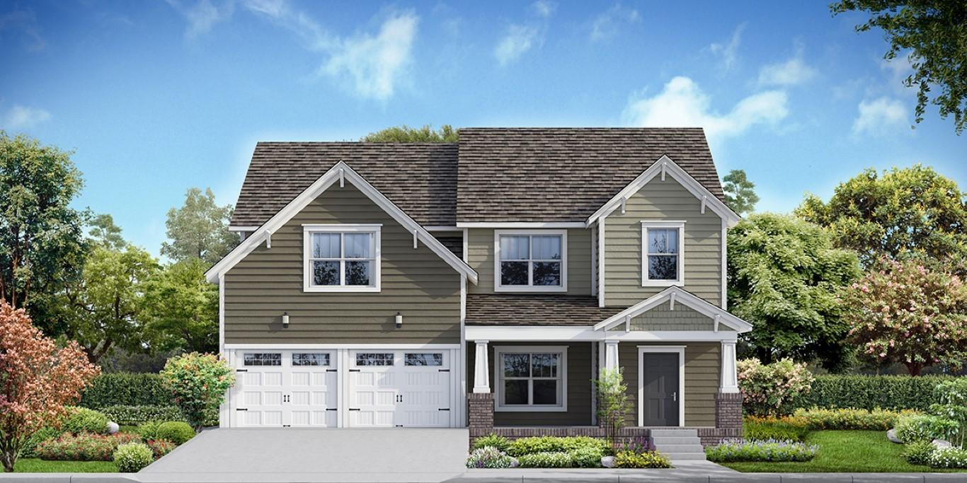 Single Family for Sale at The Alexandria 10818 Laurel Glade Lane, Lot #221 Knoxville, Tennessee 37932 United States