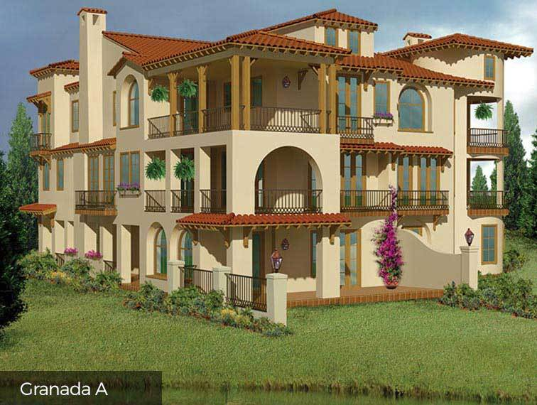 Single Family for Sale at Lakeside Cove - The Granada 87 Lakeside Cove The Woodlands, Texas 77380 United States