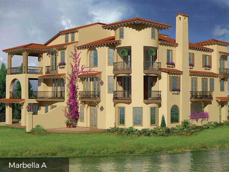 Single Family for Sale at Lakeside Cove - The Marbella 87 Lakeside Cove The Woodlands, Texas 77380 United States