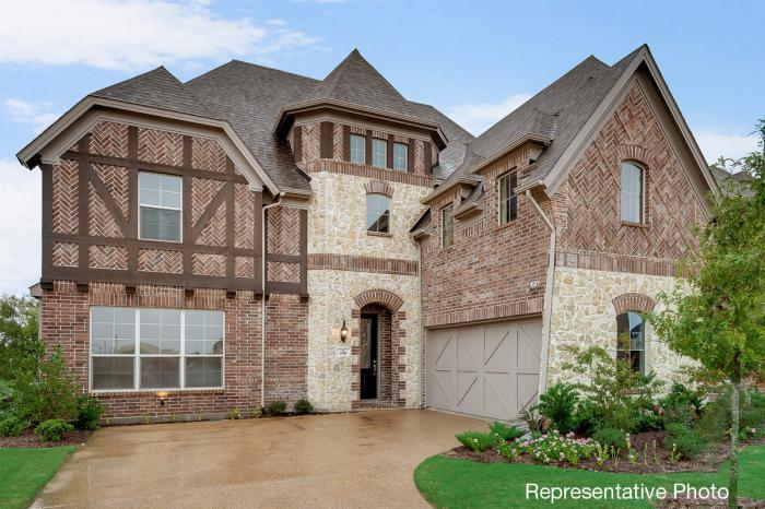Single Family for Active at Tribute - Downton Abbey 3409 Bankside The Colony, Texas 75056 United States