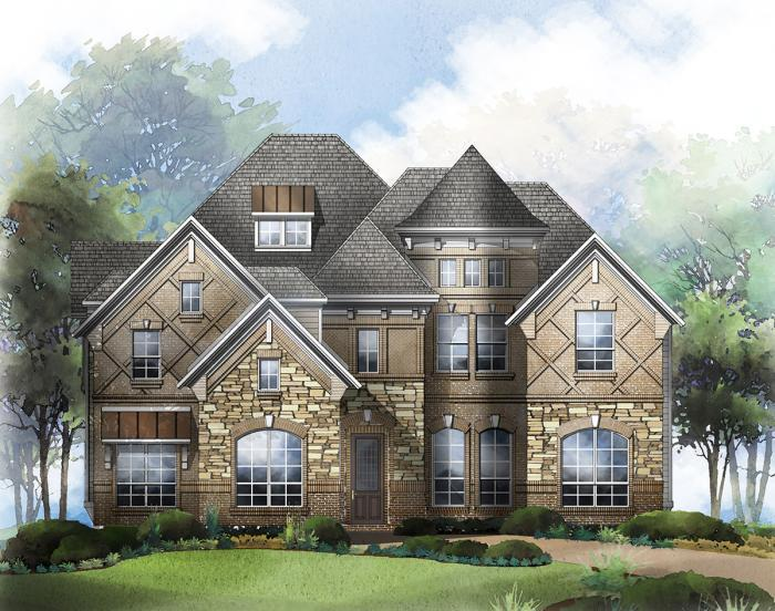 Single Family for Active at Tribute - Lake Forest 3409 Bankside The Colony, Texas 75056 United States