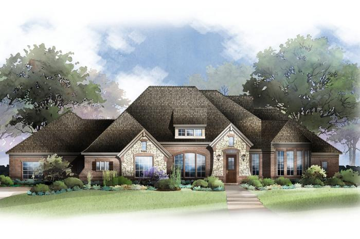 Single Family for Active at Estates At Pleasant Valley - Luciano 4412 Aiken Trail Sachse, Texas 75048 United States