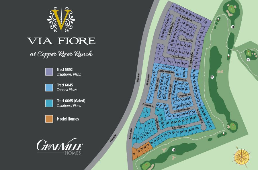 Single Family for Sale at Tresor 11308 N. Blue Sage Ave. Fresno, California 93730 United States