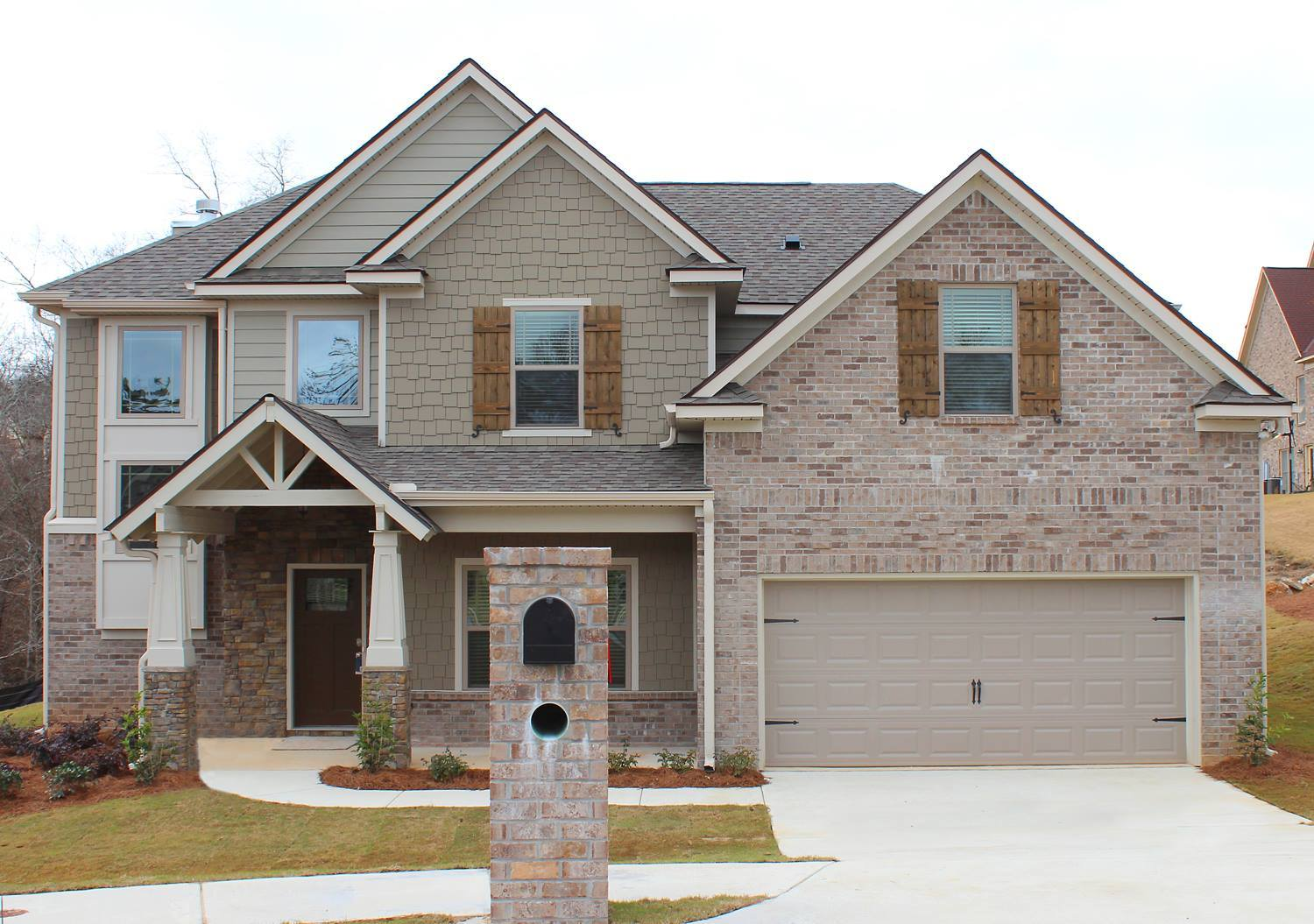 Single Family for Active at North Ivy Park - Chestnut - Georgia 4615 Wisteria Lane Fortson, Georgia 31808 United States