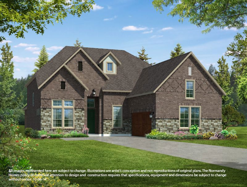 Normandy homes cypress meadows saxony 1293427 allen tx for Saxony homes