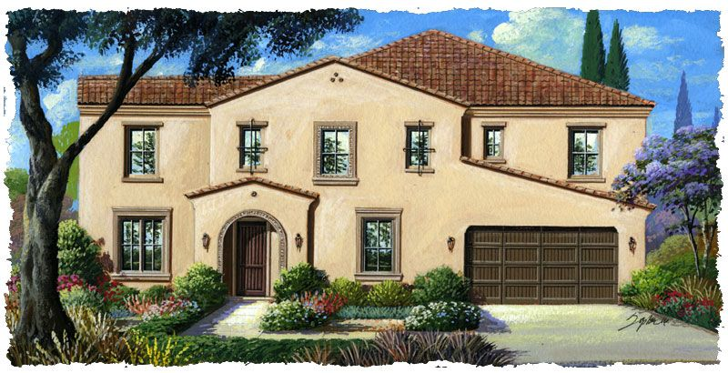 Single Family for Sale at Bella Vista Estates - Residence Three 12058 Cortona Place Riverside, California 92503 United States