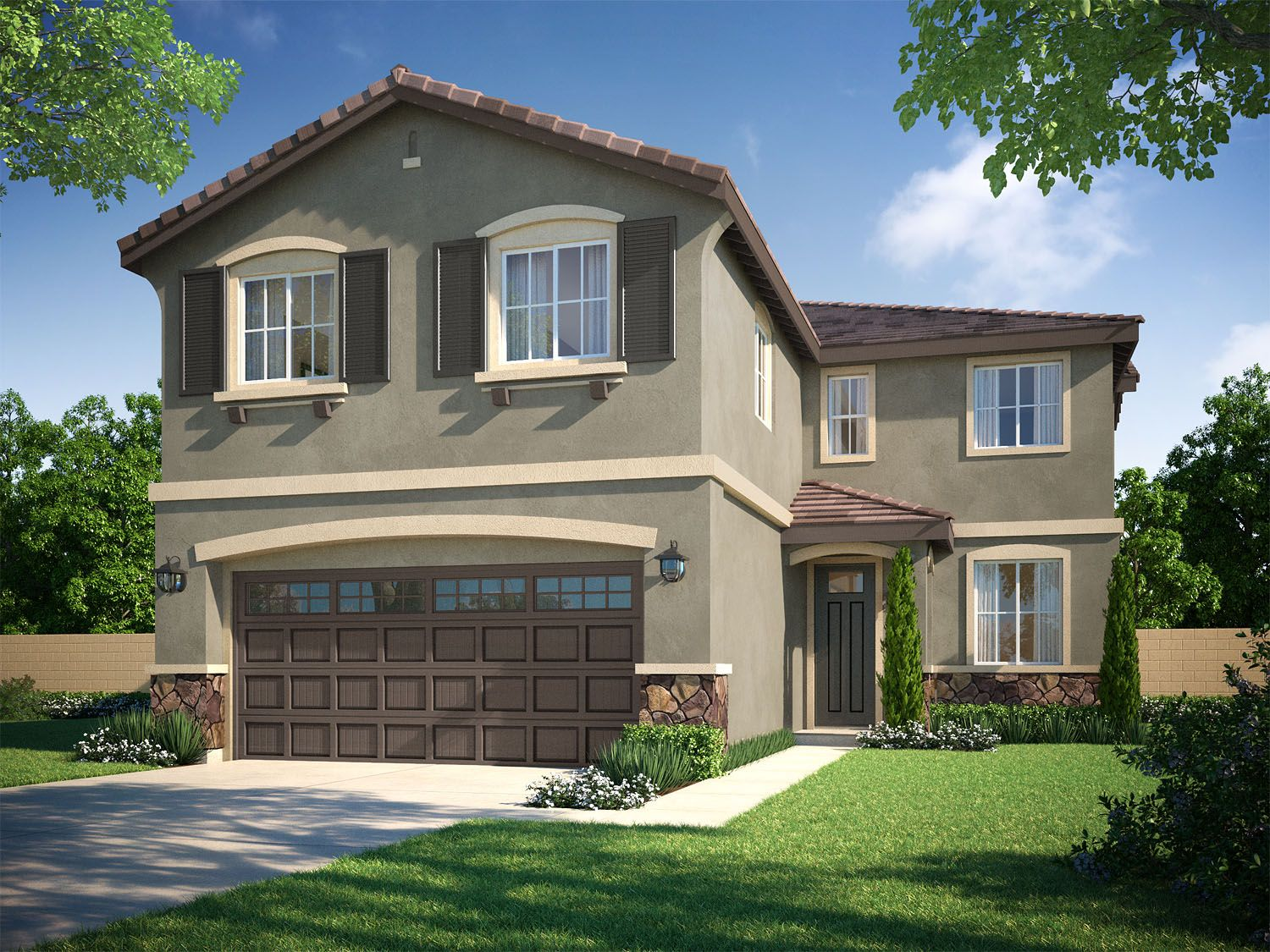 Single Family for Sale at Citrus Grove - Residence 3 17081 Cerritos Street Fontana, California 92335 United States