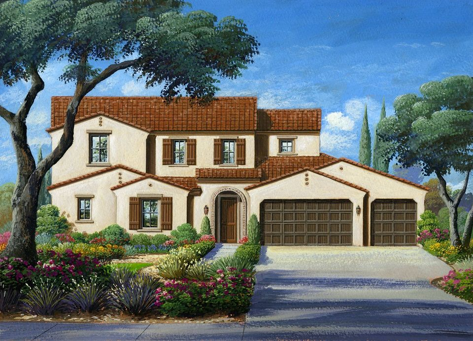 Single Family for Sale at Bella Vista Estates Rancho Cucamonga - Residence Two 13397 Hunt Club Drive Rancho Cucamonga, California 91739 United States