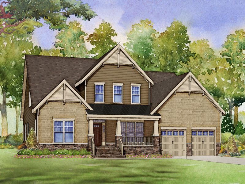 Single Family for Active at Willoughby - Crawford 501 Adkins Ridge Road Rolesville, North Carolina 27571 United States