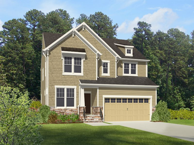 Single Family for Sale at Providence - Morgan 13340 Folly Trail Place Ashland, Virginia 23005 United States