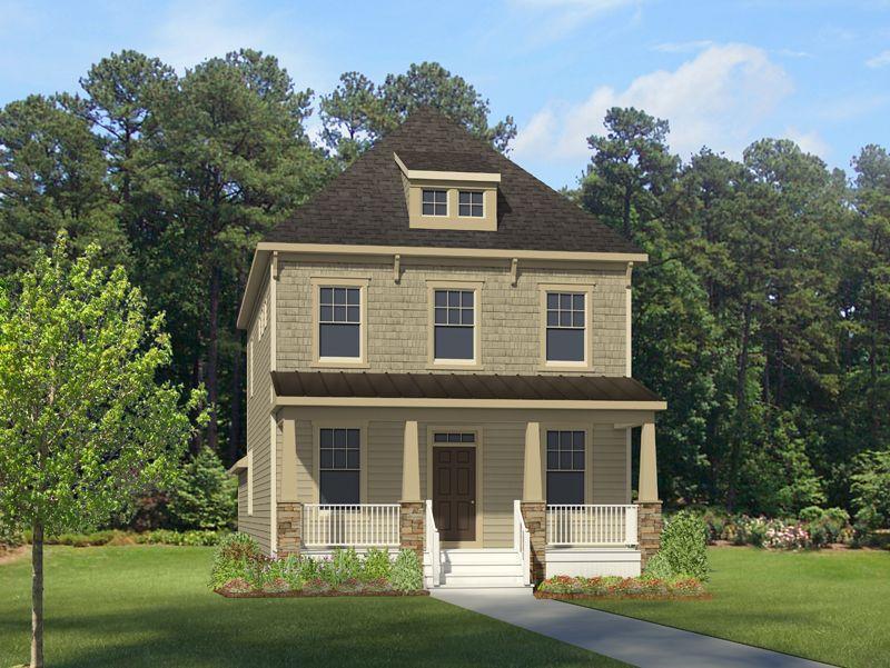 Hhhunt homes culpepper landing bradshaw 1032614 Modern homes for sale in virginia
