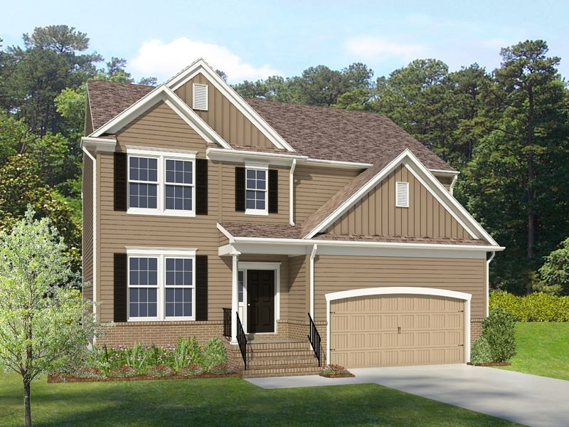 Single Family for Sale at Providence - Franklin 13340 Folly Trail Place Ashland, Virginia 23005 United States