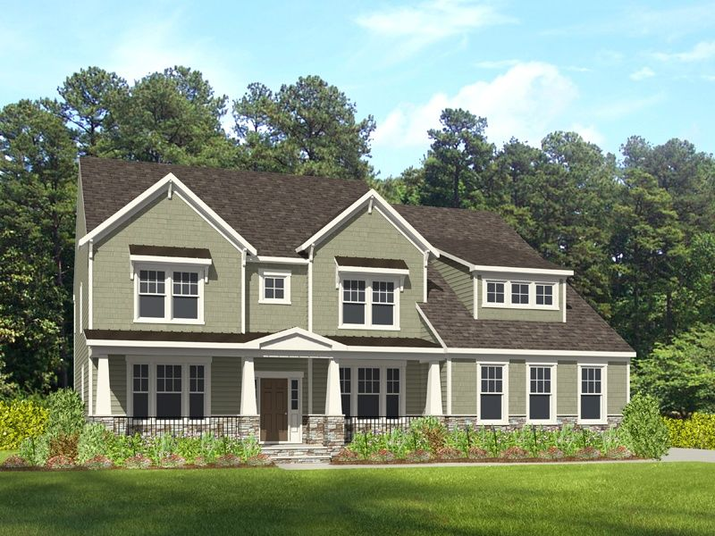 Single Family for Active at The Preserve At Peleg's Point - Dawson 4708 Peleg's Way Williamsburg, Virginia 23185 United States