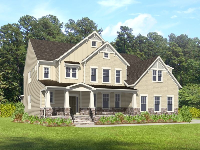Single Family for Active at The Preserve At Peleg's Point - Buckingham 4708 Peleg's Way Williamsburg, Virginia 23185 United States