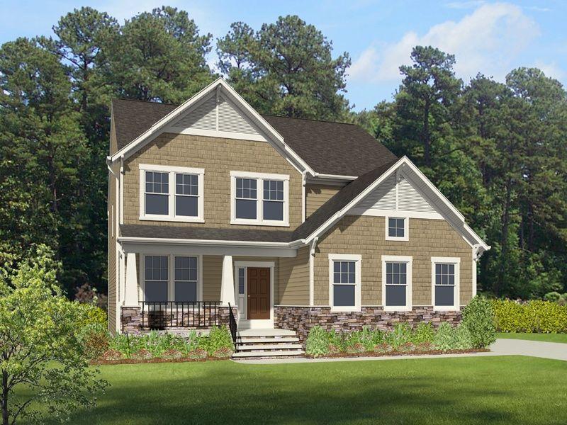 Single Family for Active at Landfall At Jamestown - Grayson 2528 William Tankard Dr Williamsburg, Virginia 23185 United States