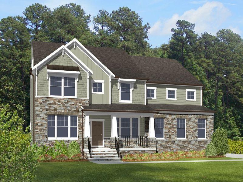 Single Family for Active at Landfall At Jamestown - Caldwell 2528 William Tankard Dr Williamsburg, Virginia 23185 United States
