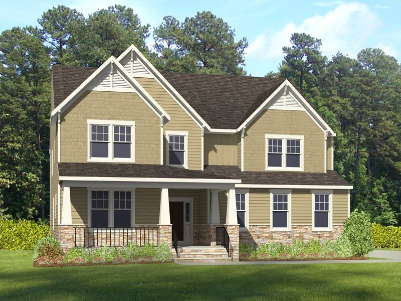 Single Family for Active at Landfall At Jamestown - Barrington 4708 Peleg's Way, Williamsburg Va Williamsburg, Virginia 23185 United States