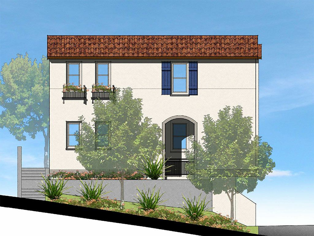 Single Family for Sale at Cypress Pointe - Plan A1 / A2 26039 Cypress Street Lomita, California 90717 United States