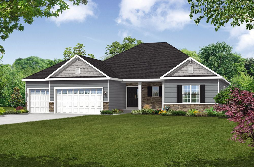 Single Family for Sale at The Eastwick W138n6085 Weyerhaven Ct Menomonee Falls, Wisconsin 53051 United States