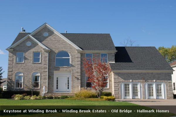 Single Family for Sale at Winding Brook Estates - Keystone 47 Palomino Drive Old Bridge, New Jersey 08857 United States