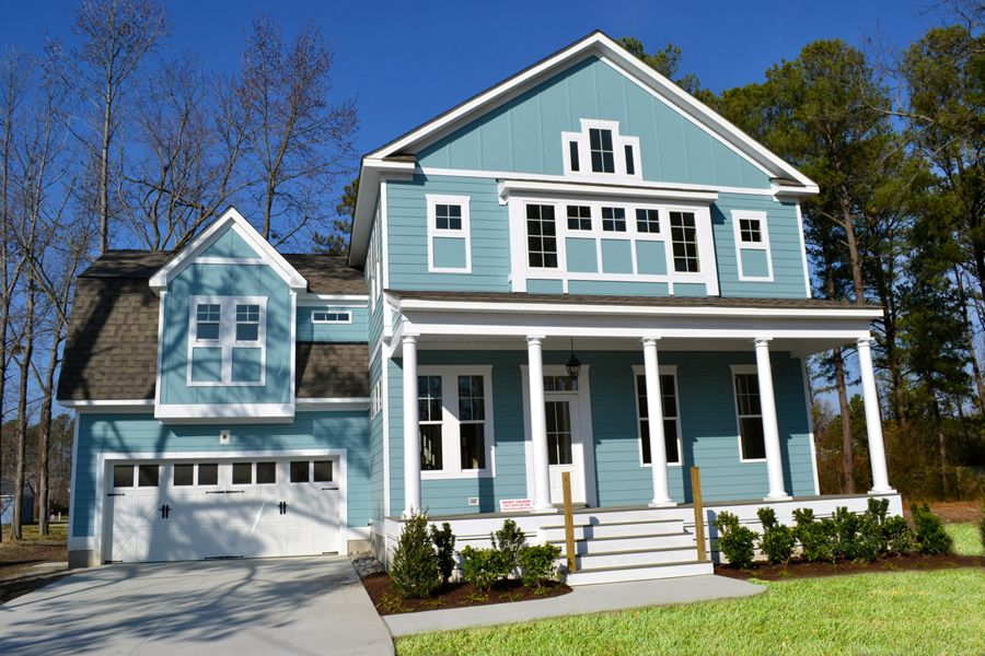 Single Family for Sale at North Shore At Ridgely Manor - Caramel Cottage 1136 Knights Bridge Lane Virginia Beach, Virginia 23455 United States