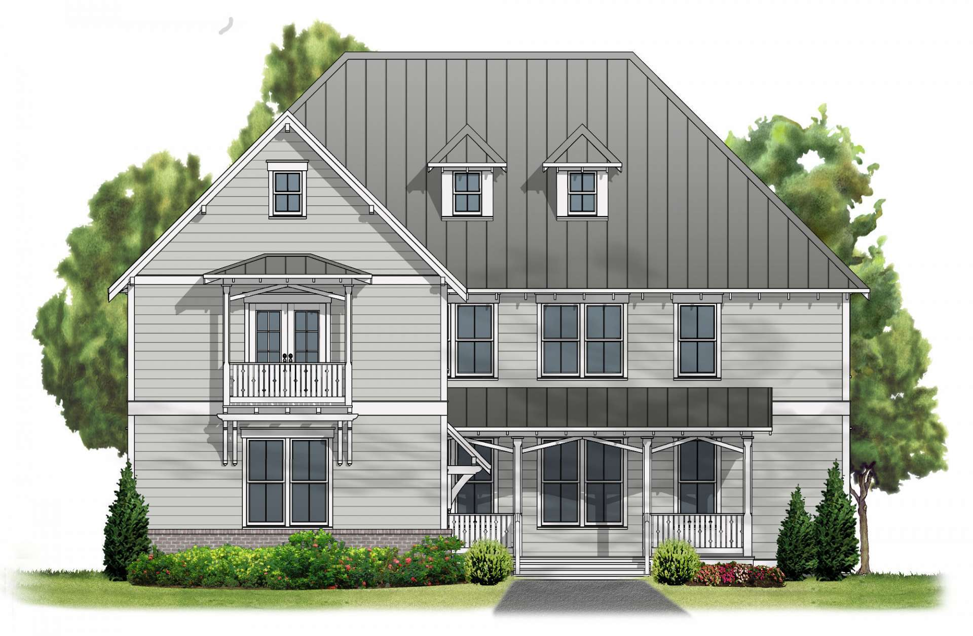 Single Family for Active at Trussville Springs - Elk River A 6489 Spring Street Trussville, Alabama 35173 United States