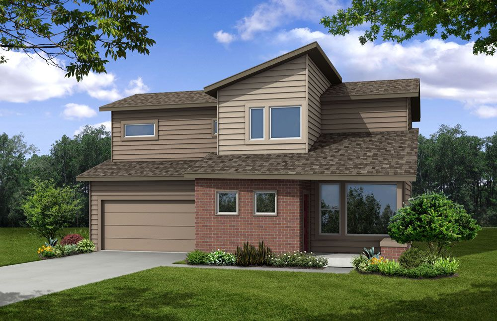 Single Family for Sale at Harvest Village - Garfield 7226 Horsechestnut St. Wellington, Colorado 80549 United States