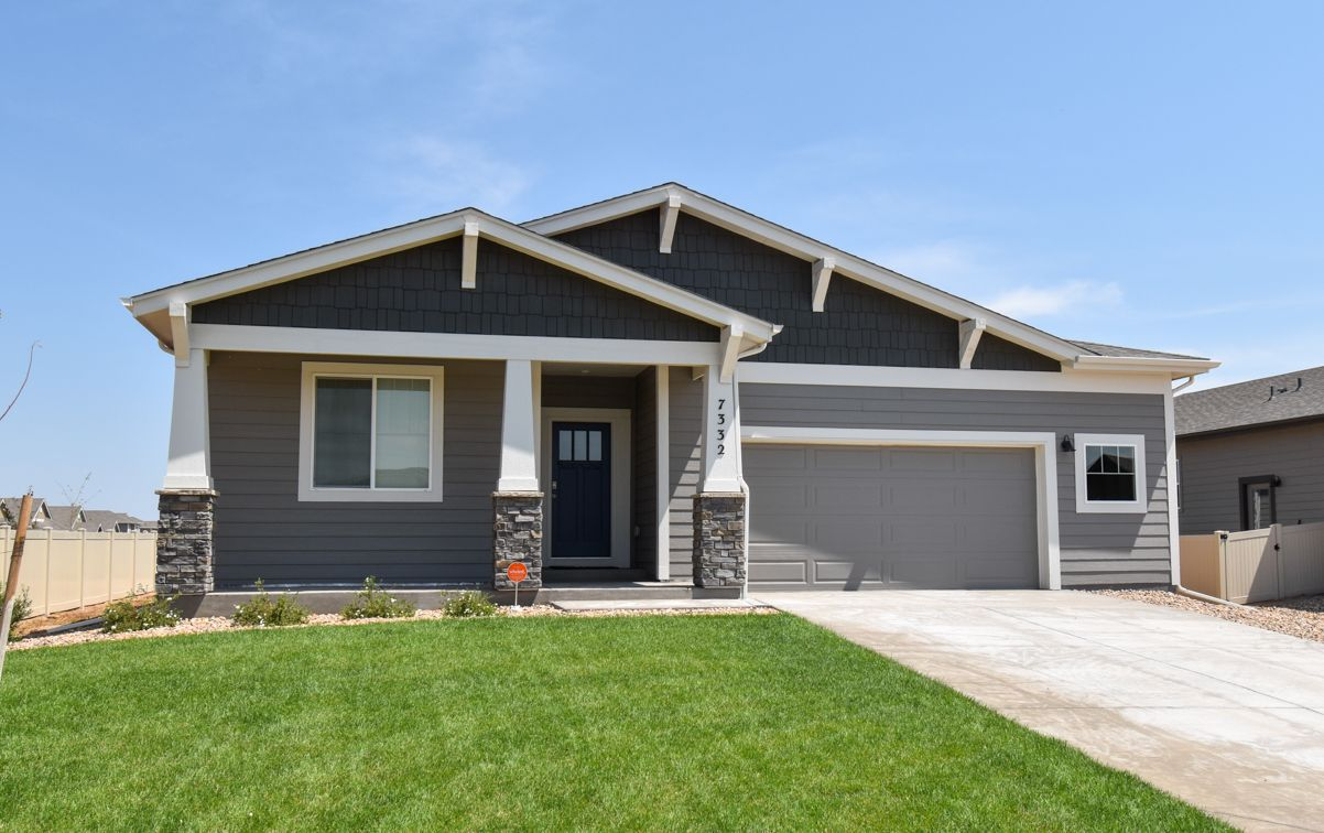 Single Family for Sale at Harvest Village - Oak 7226 Horsechestnut St. Wellington, Colorado 80549 United States
